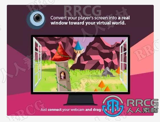 真实3D视角全息摄像头粒子效果工具Unity游戏素材资源