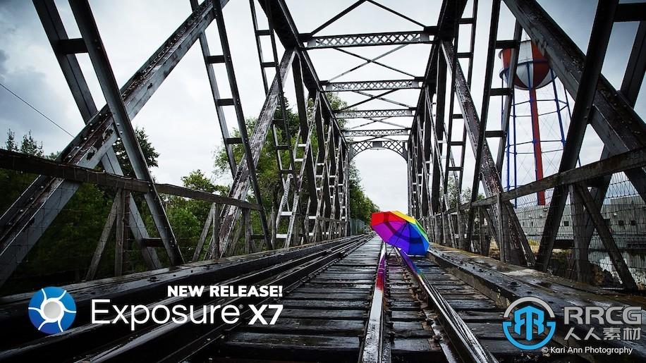 Exposure X7胶片滤镜模拟软件V7.0.1.101版