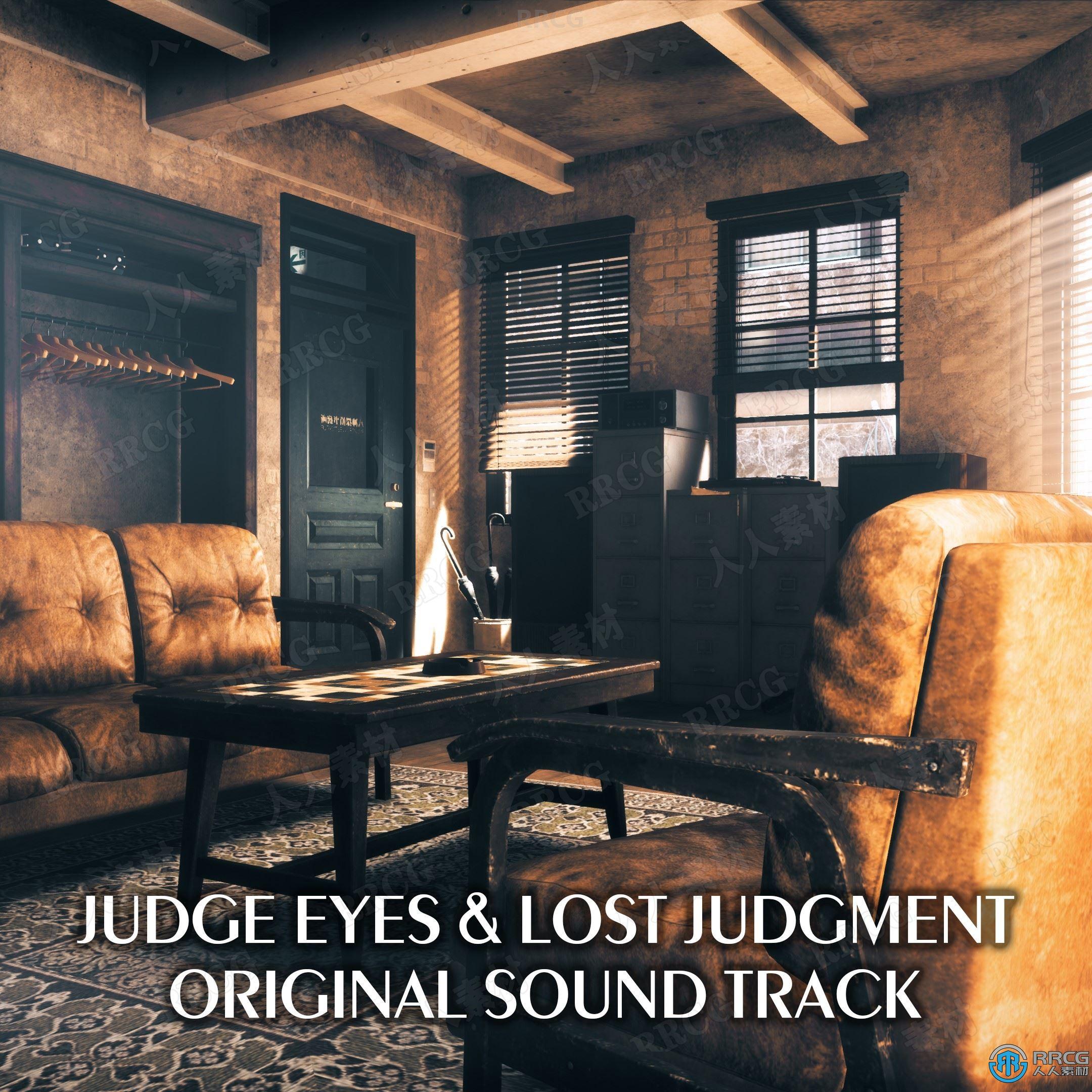 审判之逝:湮灭的记忆游戏配乐原声大碟OST音乐素材合集