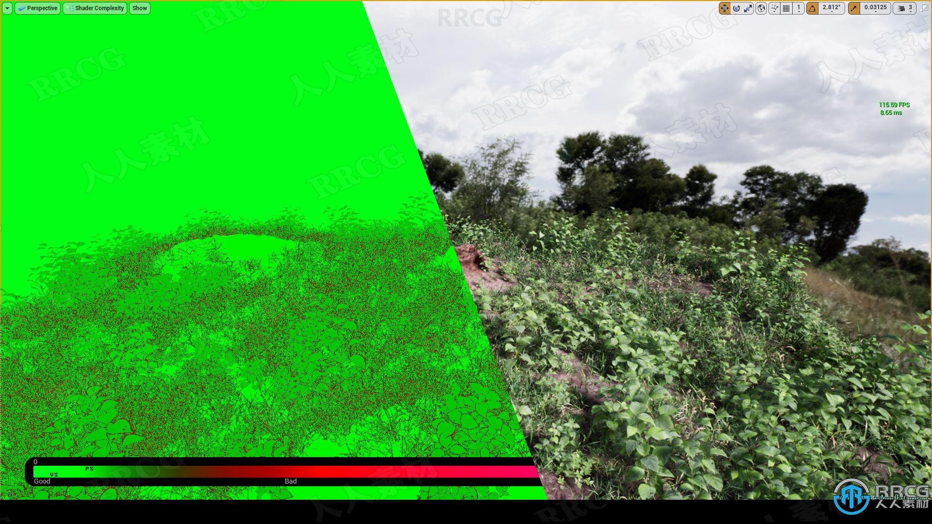 自然逼真植被岩石环境场景Unreal Engine游戏素材资源