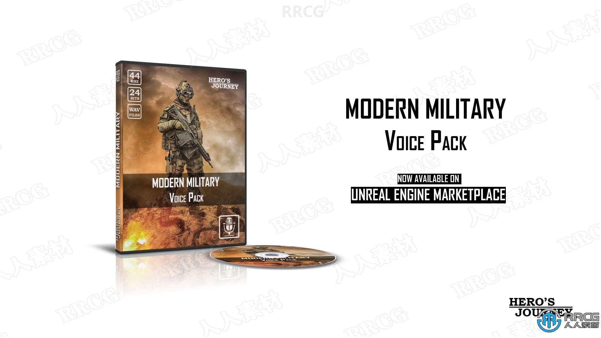 400种现代军事射击类声音文件Unreal Engine游戏素材资源