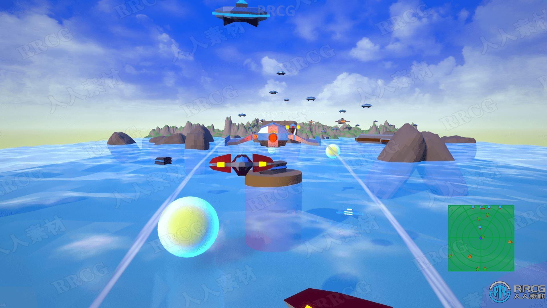 创建轨道上太空射击类完整模板Unreal Engine游戏素材资源