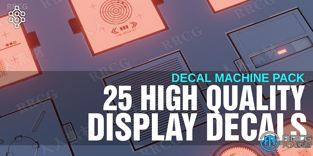 25组科幻硬表面机器高清贴图合集