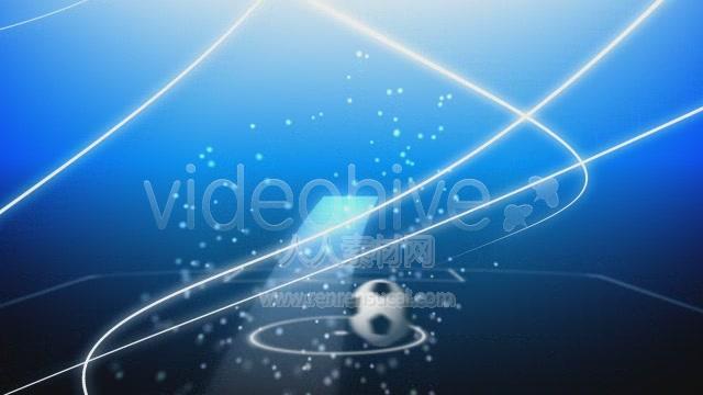 《飞翼足球 视频素材》VideoHive motion Flying soccer ball 124707
