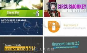 Aescripts出品AE脚本插件合辑V2016.9版 AESCRIPTS PLUGINS COLLECTION FOR AFTER E...