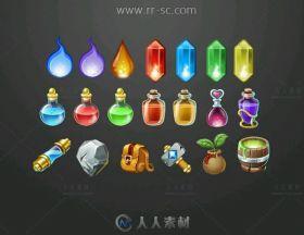 棋牌桌游美术UI界面设计素材资源