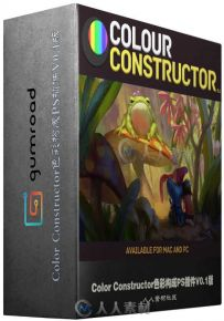Color Constructor色彩构成PS插件V0.1版 Gumroad Color Constructor 0.1 Win Mac