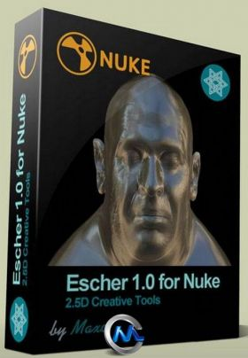 Nuke用于高级2.5D照明Escher插件V1.0.1版 Artixels Escher v1.0.1 For Nuke 6.3 an...