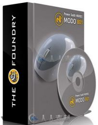 Power SubD-NURBS细分网格曲面MODO插件V2.1版 TheFoundry Power SubD-NURBS 2.1 fo...