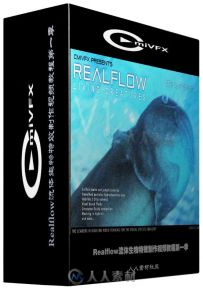 Realflow流体生物特效制作视频教程第一季 cmiVFX Living Creatures in Realflow Vo...