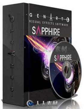 GenArts Sapphire蓝宝石AE插件合辑V11版 GENARTS SAPPHIRE 11.0 FOR AFTER EFFECTS