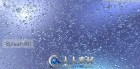 《Modo流体飞溅特效插件V6版+教程》Luxology Splash Kit for modo 601 modo 501mod...