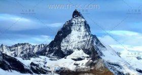奇秀震撼的雪山高清实拍视频素材
