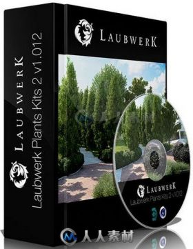 Laubwerk Plants Kit真实植物场景插件 LAUBWERK PLANTS KIT WITH LIBRARY