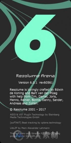 Resolume Arena v6.0.1 64 Bit - Eng