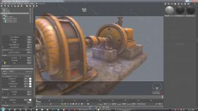 Substance Painter游戏纹理贴图技术视频教程  POLYGONSTORIES TEXTURING LOW POLY ...