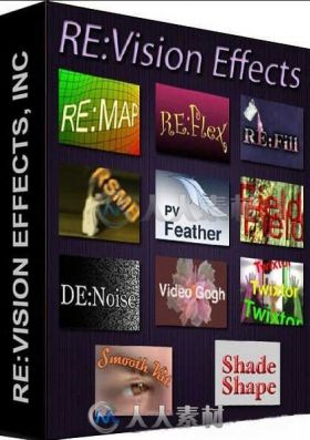 ReVisionFX视频特效插件合辑V2017.07版 REVISIONFX COLLECTION JULY 2017 WIN MAC LNX