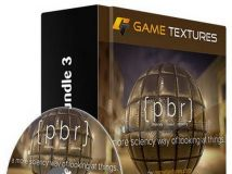 GameTextures游戏纹理贴图包第三季 GameTextures Game Texture Bundle 3