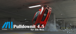 Thinkinetic公司发布了Pulldownit 4.5 for 3ds Max 新增了Alembic输出器