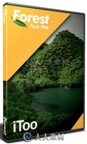 iToo ForestPack森林草丛植物生成3dsmax插件V5.2 Win版 ITOO FOREST PACK PRO 5.2 ...