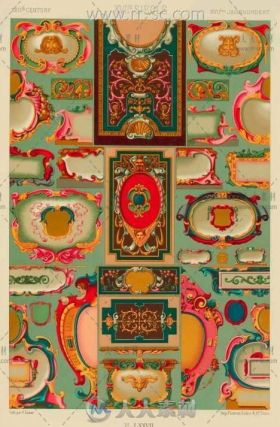 世界各类经典花纹服饰贴图素材