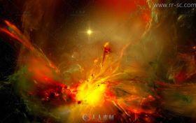超梦幻的几张星空贴图素材
