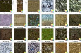 超多实用岩石贴图素材