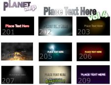 《Logo演绎合辑 第四季》PlanetAEP - Place Text to Here - Vol.4