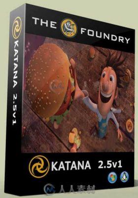 KATANA画面开发与照明工具2.5V1版 THE FOUNDRY KATANA 2.5V1 WIN
