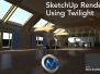 《SketchUp与Twilight渲染视频教程》Lynda.com SketchUp Rendering Using Twilight
