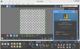 PolyUnwrapper贴图纹理3dsmax插件V4.2.7版 POLYUNWRAPPER V4.2.7 FOR 3DS MAX 2010...
