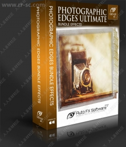 AutoFX PhotoGraphic Edges经典PS美工滤镜V9.6.0版
