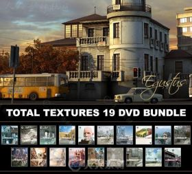 3DTOTAL出品超级纹理贴图V1-19合辑 3DTOTAL TEXTURES R2 VOLUMES 1-19