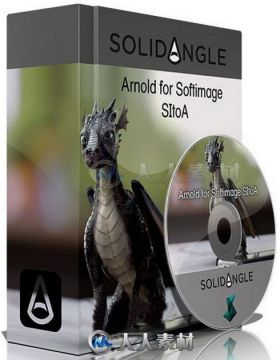 Arnold SiToA照明渲染Softimage XSI插件V3.11.0版 Solid Angle Softimage to Arnol...
