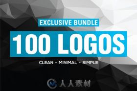 100款震撼标志收藏合辑AI矢量模板100 Breathtaking LOGO COLLECTION