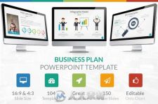 商业计划展示PPT模板Business Plan - Powerpoint Template
