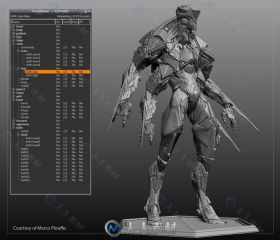 ZScene Manager模型雕刻管理Zbrush插件V1.6版 ZSceneManager 1.6 For Zbrush Win