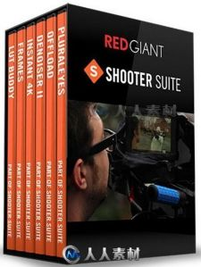 Red Giant Shooter Suite红巨星拍摄套件工具V13.0.4版 RED GIANT SHOOTER SUITE V1...
