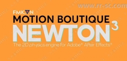 Motion Boutique Newton 牛顿2D动力学AE插件V3版