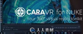 The Foundry CaraVR虚拟现实NUKE插件V1.0V5版 THE FOUNDRY CARAVR V1.0V5 NUKE WIN...