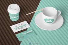 咖啡和茶品牌制作套件矢量Ai模板Coffee & Tea Branding Toolkit
