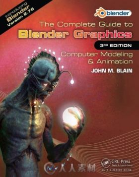 Blender完全学习手册第三版书籍 The Complete Guide to Blender Graphics 3rd + Su...