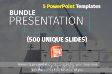 500款PPT模板合辑Bundle Presentation Templates