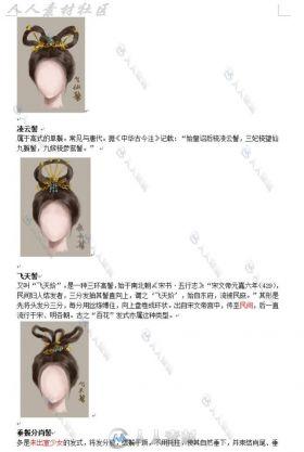 古装女子人物发型(文+图)