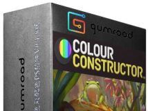Color Constructor色彩配色PS插件V0.1.8版 Gumroad Color Constructor 0.1.8 Win Mac