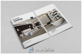 家居宣传册indesign排版模板Interior Catalogs