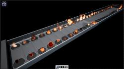 UE4火焰燃烧特效