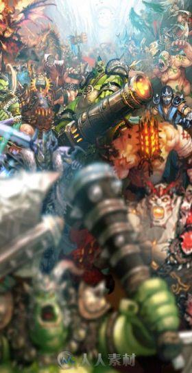韩国游戏《五魂》游戏资源包