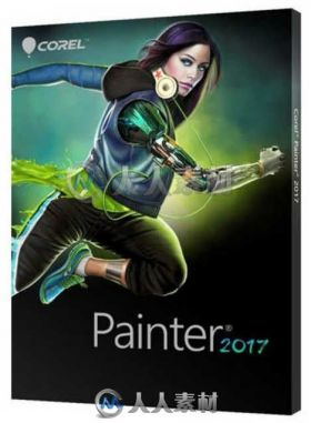 Painter数字美术绘画软件V2017 Mac版 COREL PAINTER 2017 V16.0.0.400 MACOSX