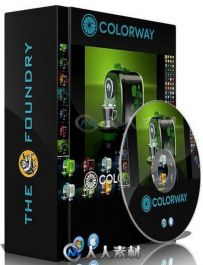 Colorway色彩设计Modo插件V1.3v2版 The Foundry COLORWAY kit 1.3v2 for MODO 801 ...